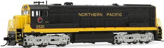 Arnold Hornby Northern Pacific U25C