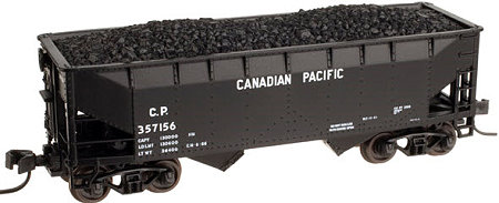 Atlas Canadian Pacific 2 Bay Offset Side Hopper