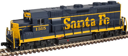 Atlas Santa Fe EMD GP-35, N Scale