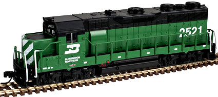Atlas Burlington Northern EMD GP-35
