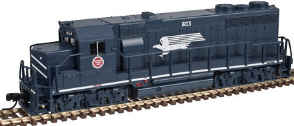Atlas N Scale Missouri Pacific EMD GP-35