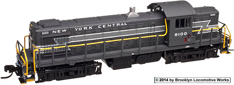 New York Central Atlas RS-1