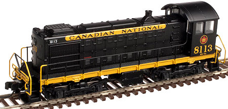 Canadian National Alco S-2