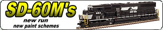 Link to Atlas N Scale SD60M's