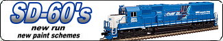 Link to Atlas N Scale EMD SD60's