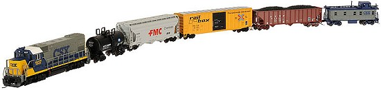 BNSF GP15-1 Train Set