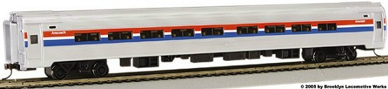 Bachmann Amtrak Budd Cars