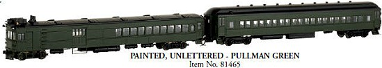 Painted, Unlettered  Bachmann Gas Electric Doodlebug