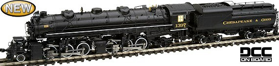 Bachmann C&O 2-6-6-2