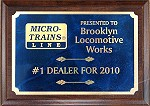 Brooklyn Locomotive Works, #1 Micro-Trains Dealer 2008