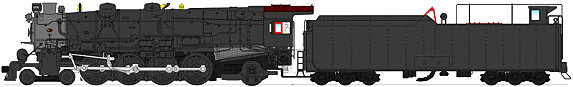Broadway Limited PRR M1a, Painted, Unlettered