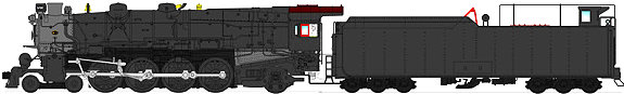 Broadway Limited PRR M1b, Painted, Unlettered