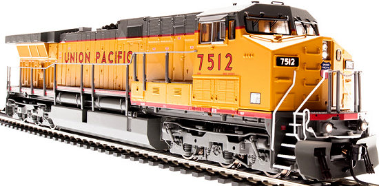 Broadway Limited UP N Scale AC6000