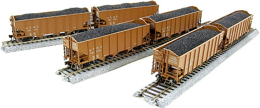 Broadway Limited ATSF H2a Hopper