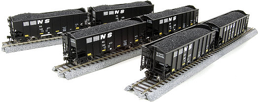 Broadway Limited Norfolk Southern H2a Hopper