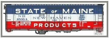 Eastern Seaboard Models New Haven 40' Insulated Boxcar