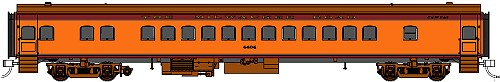 Fox Valley Models 1935 Milwaukee Road Coach