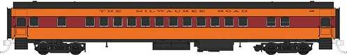 Fox Valley Models 1950's Maroon Band Milwaukee Road Coach