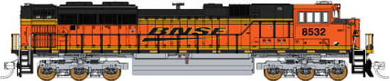 Fox Valley Models BNSF Wedge Logo SD70ACe
