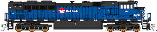 Fox Valley Models Montana Rail Link SD70ACe