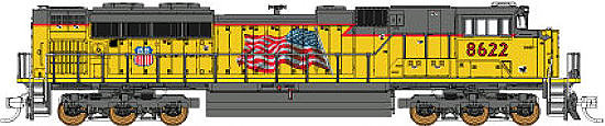 Fox Valley Models Union Pacific SD70ACe's