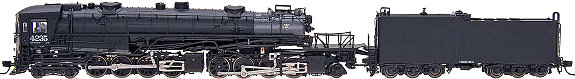 Southern Pacific AC-10 Cab Forward, Rd #4235