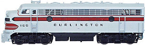 InterMountain CB&Q Burlington EMD F7A