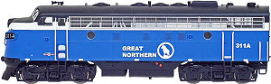 InterMountain GN Sky Blue EMD F7A
