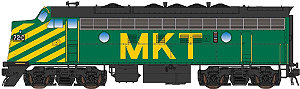 InterMountain MKT Green  EMD F7A