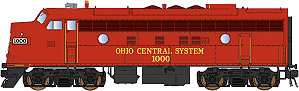 InterMountain Ohio Central EMD F7A