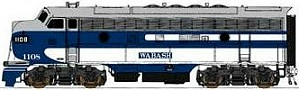 Wabash InterMountain EMD F-7