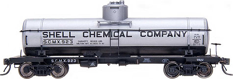 Shell  InterMountain 8,000 Gallon Tank Car