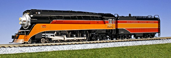 Kato Southern Pacific Lines GS-4 Daylight