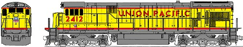 Union Pacific Kato GE C30-7 Diesel