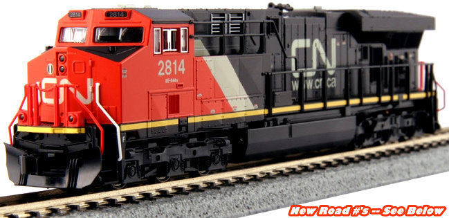 Kato Canadian National GE ES44AC