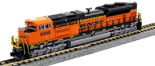 Kato BNSF SD70ACe