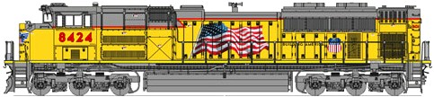 Kato Union Pacific SD70ACe
