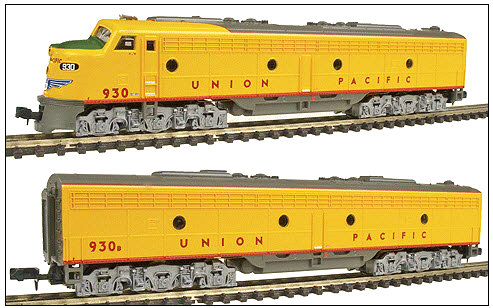 Life-Like Union Pacific EMD E8 Set