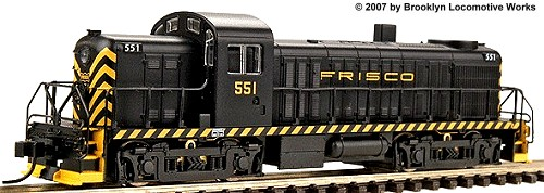 Life-Like Frisco Alco RS-2