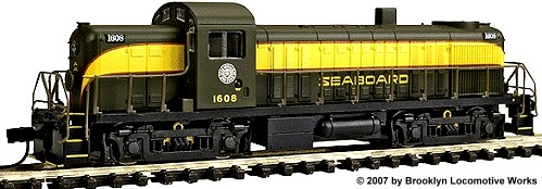 Life-Like Seaboard Air Line Alco RS-2