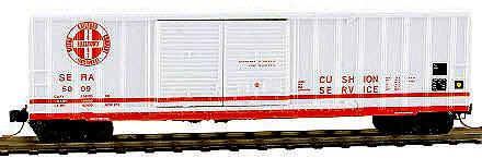Sierra Railroad 50' Rib Side Box Car, Per Diem Series Car #2