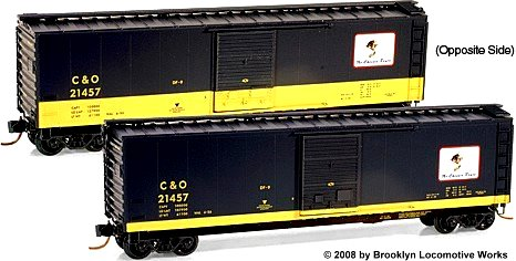Micro-Trains C&O Cameo Series, Car #5, Front/Rear