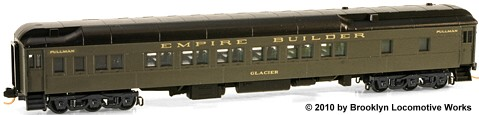 Micro-Trains GN Empire Builder 12-1 Sleeper