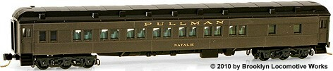 Micro-Trains Great Northern 28-1 Parlor Car