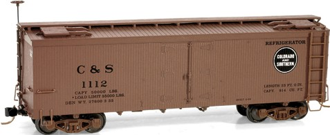 HOn3 Colorado & Southern Refrigerator Car