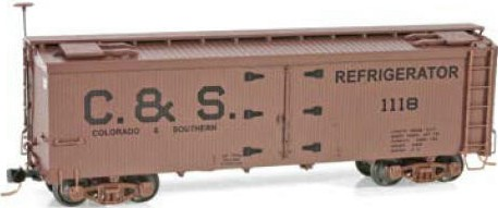 HOn3 Colorado & Southern Wood Reefer
