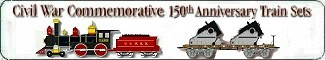 Micro-Trains Civil War Commemorative 150th Anniversary Train Sets