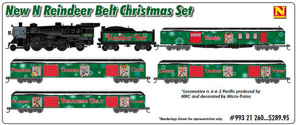 Micro-Trains Holiday Train Sets