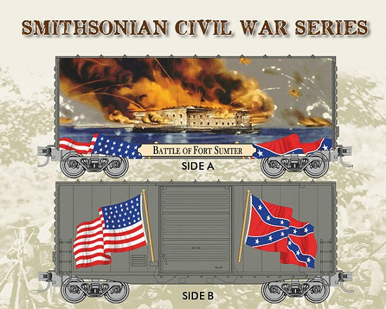 Micro-Trains Smithonian Civil War Series