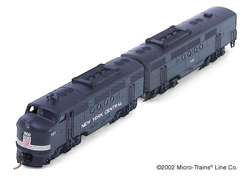 Micro-Trains New York Central EMD FT